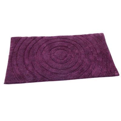 Textile Decor Castle Castle Hill 100% Cotton Echo Spray Latex Back Bath Rug, 24 H X 17 W, Light Sage
