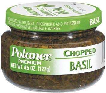 Polaner Chopped Premium Basil 4.5 Oz Jar