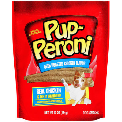 Pup-Puperoni® Oven Roasted Chicken Flavor Dog Snacks, 10-Ounce