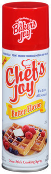 Chef's Joy™ Butter Flavor Non-Stick Cooking Spray 5 oz. Can