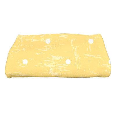 Bay Isle Home Golden Beach Dorothy Polka-dots Print Bath Towel Color: Yellow