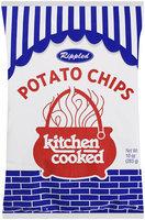 Rippled Kitchen Cooked Potato Chips 10 oz Bag
