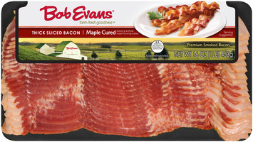 Bob Evans® Maple Cured Thick Sliced Bacon 16 oz. Package