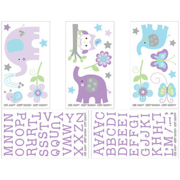 Crown Craft NoJo Dreamland Wall Decals (Set of 5)