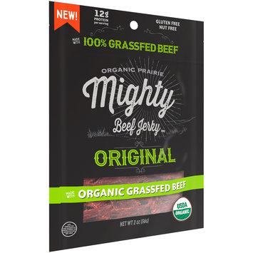 Organic Prairie® Organic Original Mighty Beef Jerky™ 2 oz.