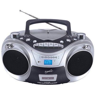 Supersonic SC-709 Portable MP3/CD, Cassette, USB