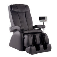 Omega Massage ME-1 Montage Elite Reclining Heated Massage Chair, Coffee
