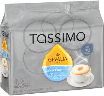 Tassimo Gevalia Skinny Cappuccino Coffee & Milk Creamer T Discs 8 ct Bag