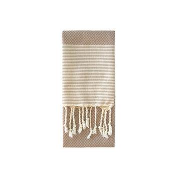 Nine Space Aegean Hand Towel, 31 x 15, Cream, 1 ea