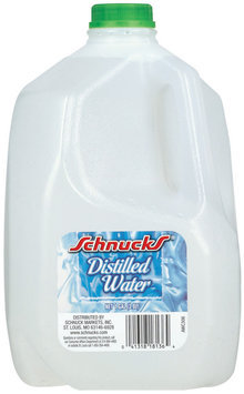 Schnucks  Distilled Water 1 Gal Jug