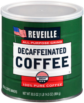 Reveille™ Decaffeinated Coffee 30.5 oz. Can