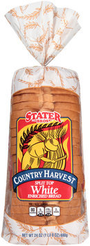 Stater Bros.® Country Harvest Split Top White Bread 24 oz. Bag