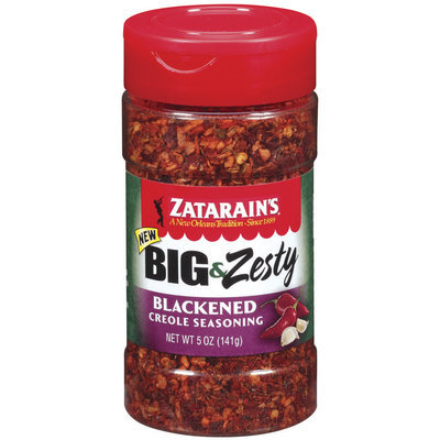 Zatarain's® Big & Zesty Blackened Creole Seasoning 5 oz. Shaker