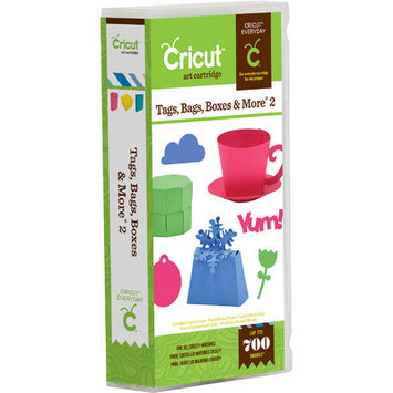 Provocraft Cricut Shape Cartridge - Tags Bags Boxes and More