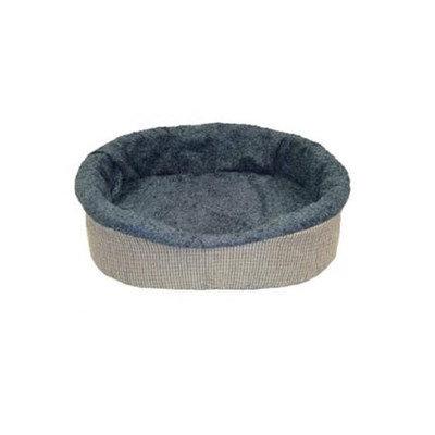Digpets Muttluks Bio-Cuddlers Blue Oval Dog Bed 36 inch