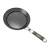 Man Law BBQ Skillet Basket