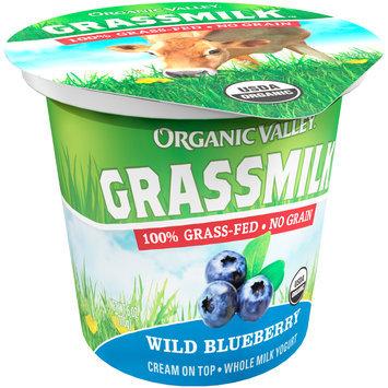 Organic Valley® Grassmilk™ Organic Wild Blueberry Whole Milk Yogurt Cup