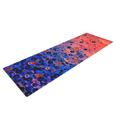 Kess Inhouse What Goes Up by Ebi Emporium Yoga Mat