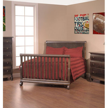 Capretti Design Billissimo Toddler and Full Size Bed Conversion Kit Finish: Toffee