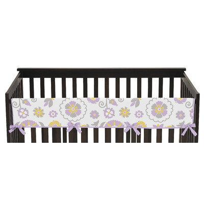 Sweet Jojo Designs Suzanna Long Crib Rail Guard Cover
