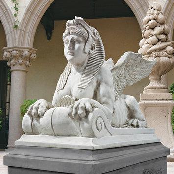 Design Toscano Winged Sphinx Statue - Set/2