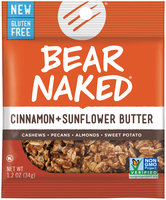 Bear Naked® Cinnamon + Sunflower Butter Snack Mix 1.2 oz. Bag