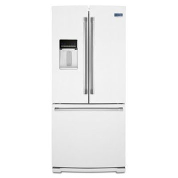Maytag 19.6 Cu. Ft. French Door Refrigerator - White