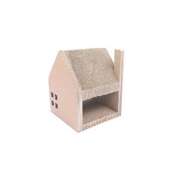 Purrrfect Life Corrugated Cardboard Cat House