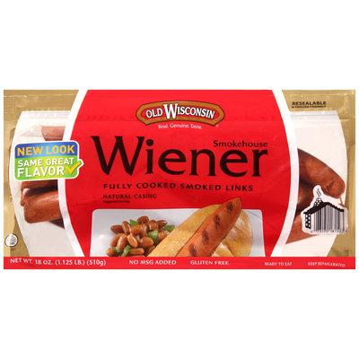 Old Wisconsin® Smokehouse Wiener 18 oz. Pack