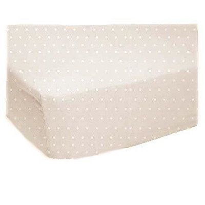 Stwd 3 Piece Pindot Jersey Knit Sheet Crib Bedding Set