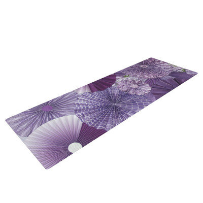 Kess Inhouse Lavender Wishes by Heidi Jennings Yoga Mat