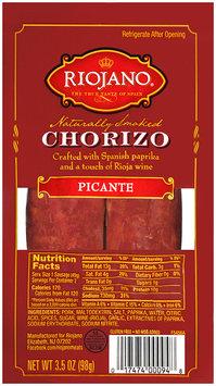 Riojano® Picante Chorizo 3.5 oz. Pack