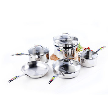 Fiesta Cast Iron Round Grill Pan, 10