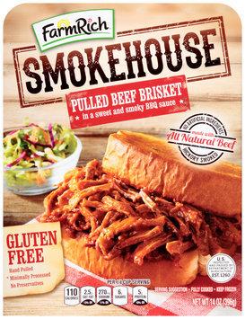 Farm Rich® Smokehouse Pulled Beef Brisket 14 oz. Box