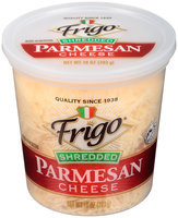 Frigo® Shredded Parmesan Cheese 10 oz. Tub