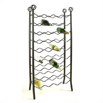 Grace 36 Bottle Wine Rack Finish: Aged Iron