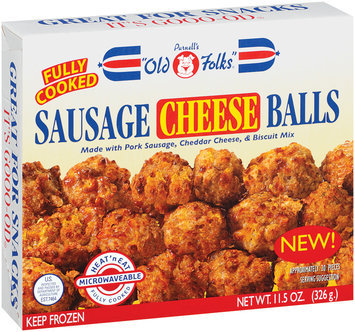 Purnell's Old Folks Cheese Sausage Balls 11.5 Oz Box