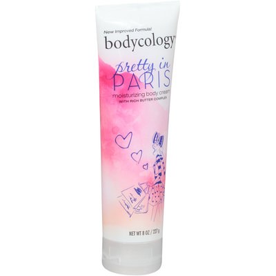 Bodycology® Pretty in Paris Moisturizing Body Cream 8 oz. Tube