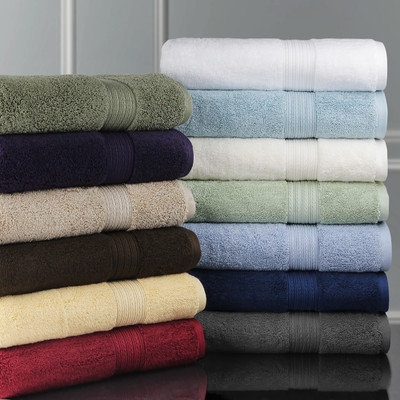 Luxor Linens Bliss Egyptian Cotton Luxury Bath Towel Color: Robin's Egg Blue