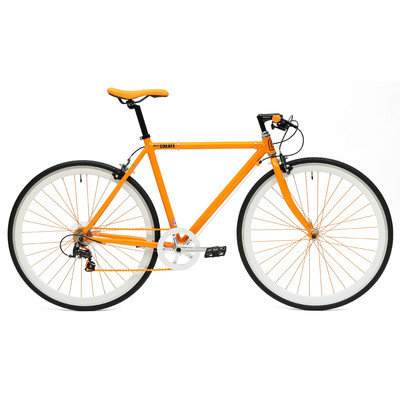 Ideacycle C8 Gear Road Bike Size: 43cm, Color: Orange