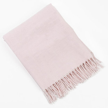 Saro Classic Baby Blanket Color: Pink