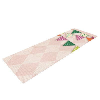 Kess Inhouse Flags 2 Yoga Mat