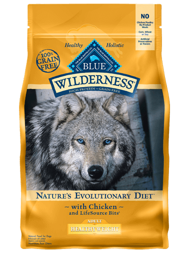 THE BLUE BUFFALO CO. BLUE™ Wilderness® Healthy Weight Chicken For Adult Dogs