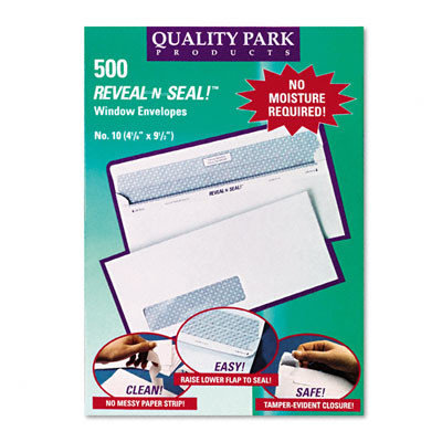 Quality Park Reveal-N-Seal Envelope
