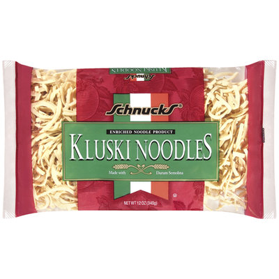 Schnucks Kluski  Noodles 12 Oz Package