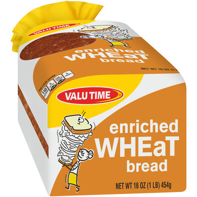 Valu Time Enriched Wheat Bread