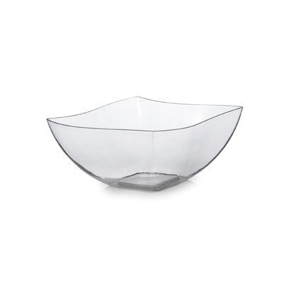 Fineline Settings, Inc Wavetrends 8 oz. Serving Bowl (Pack of 80) Color: Clear