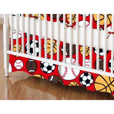 Stwd Sports Crib Skirt