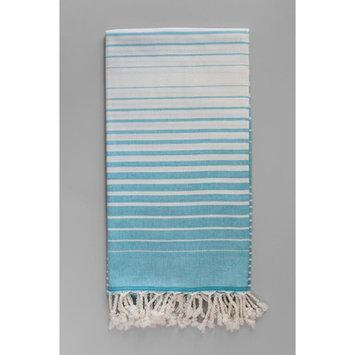 Antiochia Illusion Bath Towel Color: Turquoise