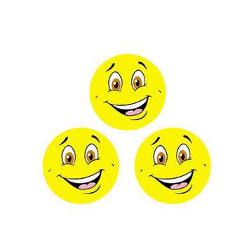 TREND ENTERPRISES INC. T-83202 STINKY STICKERS YELLOW SMILES/LEMON MERING